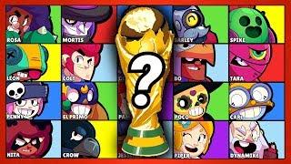 Welcher Brawler wird Weltmeister? 🏆 | Brawler WM | Brawl Stars deutsch