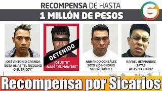 Recompensa por sicarios integrantes del grupo 35-Zetas #Veracruz
