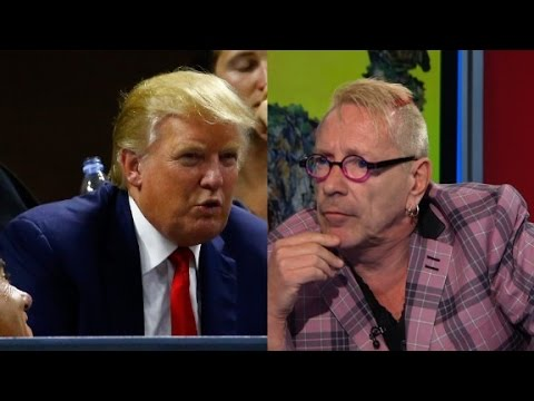 Former Sex Pistol on Trump: