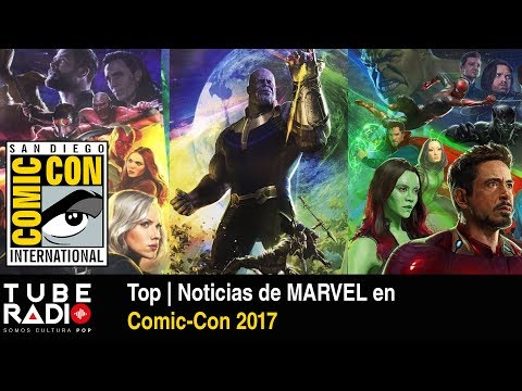Top | Noticias de MARVEL en Comic-Con 2017
