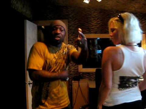 WE IN THE ZONE ENT ANGEL DIVA IN THE STUDIO,MUST SEE