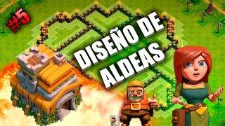Aldea Farming Ayuntamiento 7 TH7 3 Cohetes - Diseño de Aldeas #5 - Clash of Clans