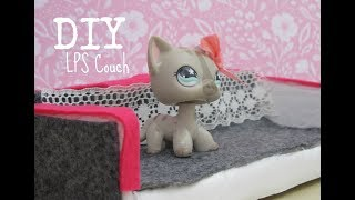 DIY LPS Couch || Easy Crafts