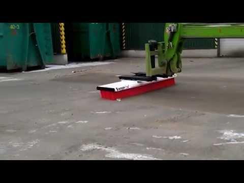 Video Zametací kartáče SweepEx MEGA