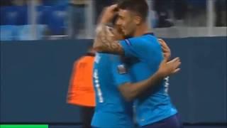 зенит 3:1  Реал Сосьедад. Обзор матча. Лига Европы