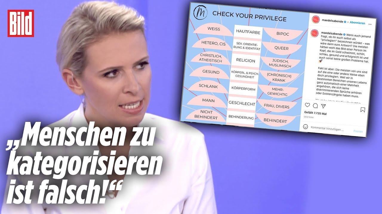 """Download Woke-Wahnsinn bei ARD/ZDF: """"Das ist die totale Diskriminierung!""""   Viertel nach Acht"""