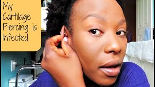 Cartilage Piercing Update: Infection & Solution feat. Demo