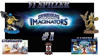 skylanders imaginators episode 1 unboxing gameplay   norsk gaming