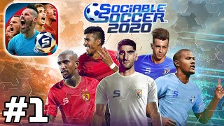 Apple Arcade - Sociable Soccer 2020 - Online PvP Gameplay Walkthrough (iOS)