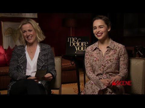 "Emilia Clarke & Jojo Moyes - ""ME BEFORE YOU"" Interview!"