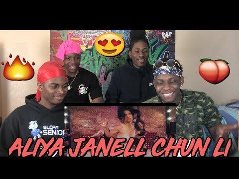 Chun Li | Nicki Minaj | Aliya Janell Choreography | Queens N Lettos - REACTION