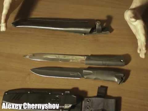 Обзор ножей Ворон 3 и Егерский