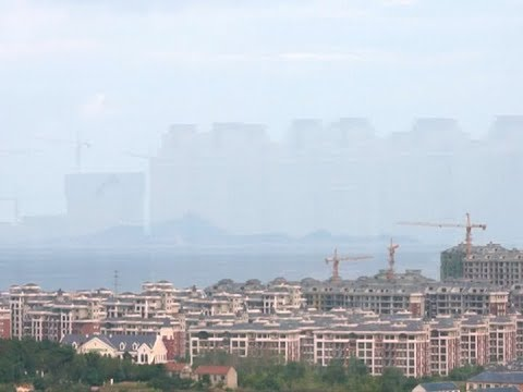 Breathtaking mirage appears in East China