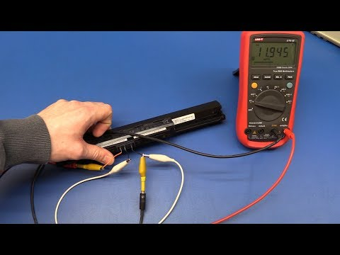 How to Test a Laptop Battery - Ec-Projects