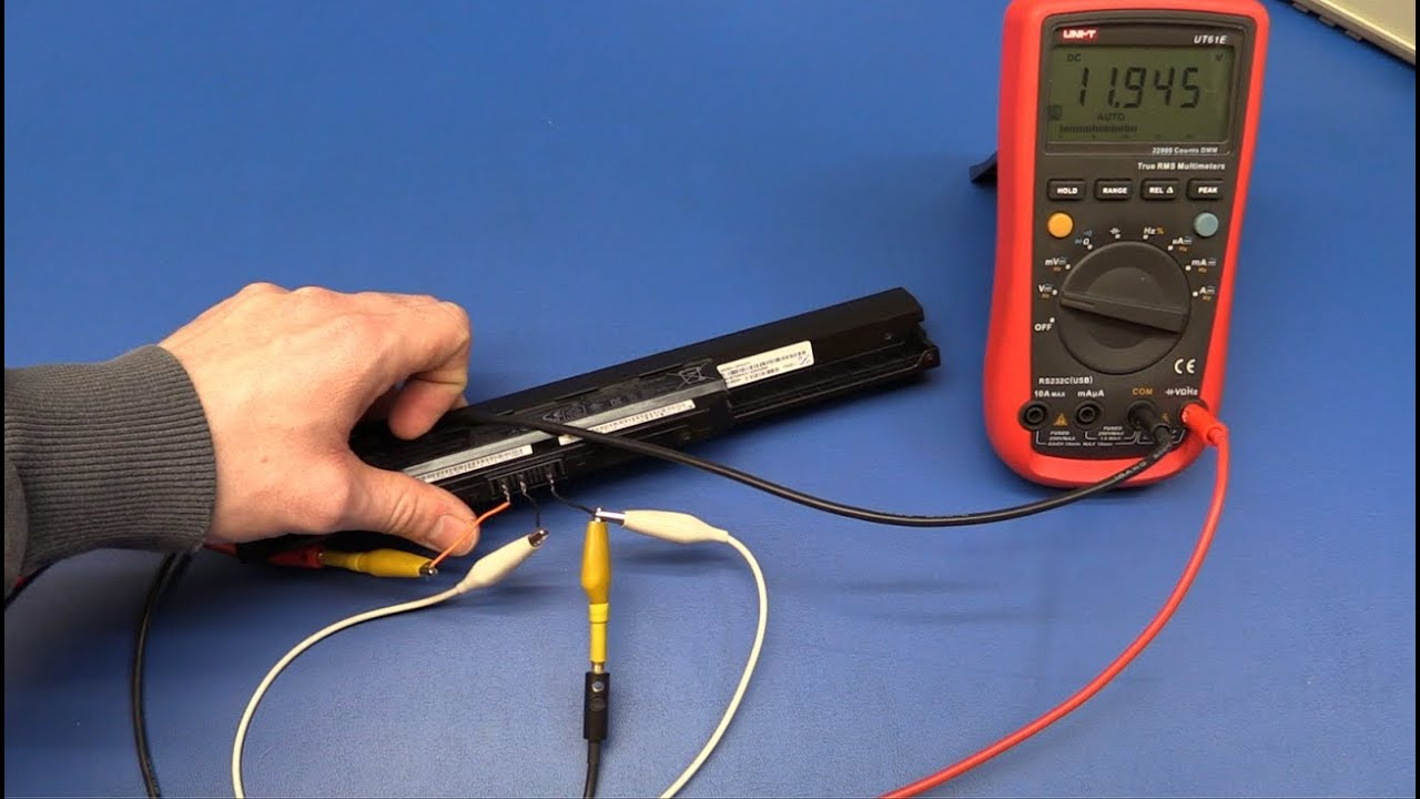 how to test a laptop battery ec projects [ 1280 x 720 Pixel ]
