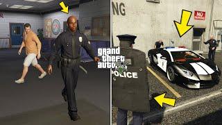 What Happens If You Follow This Cop in GTA 5? (Secret Police Lamborghini Location)