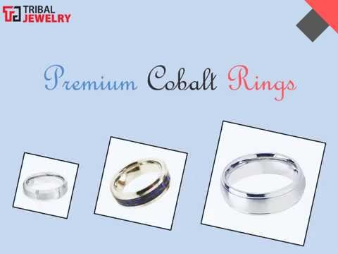 Premium Cobalt Rings -  Tribal Jewelry