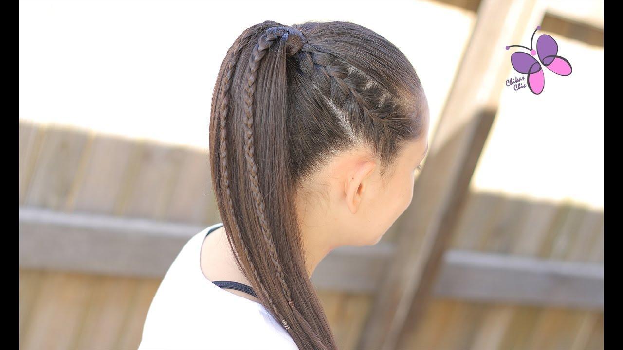 Exquisito peinados con cola alta Galería de cortes de pelo estilo - Peinados con cola alta con trenza - Cortes de pelo con ...