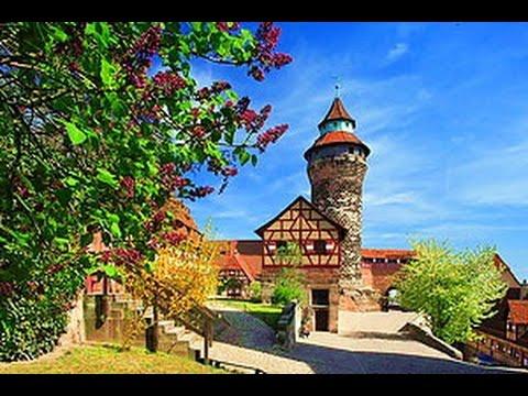 Нюрнбергский замок, 11 век - Nürnberger Burg 11th century - Просто Фантастика!