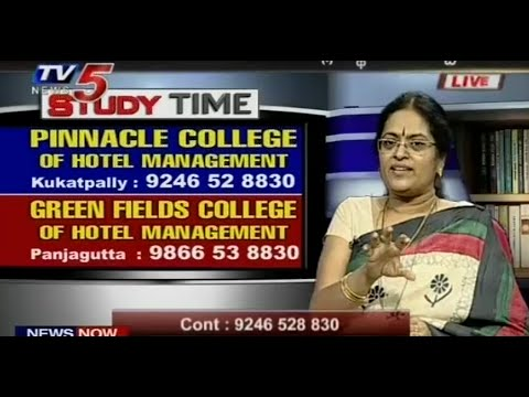 Pinnacle & green fields are the best colleges for hotel management : TV5 News