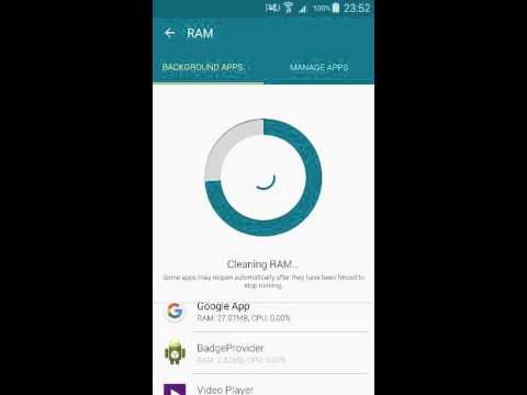 Samsung Galaxy Note 4 smart manager