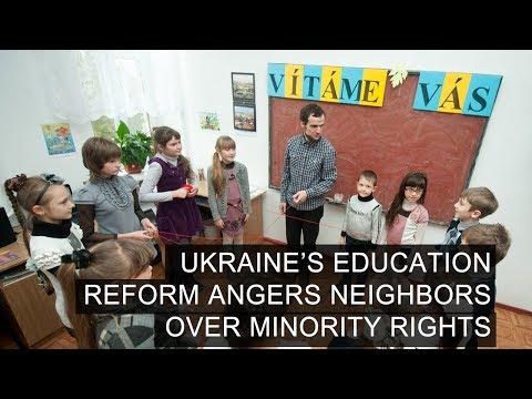 Ukraine's Education Reform Angers Neighbors Over Minority Rights