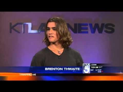 'Ride'  Brenton Thwaites  for KTLA5