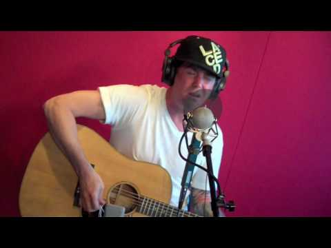 Scott Russo of Unwritten Law performs 'Save Me' live on FM/1039