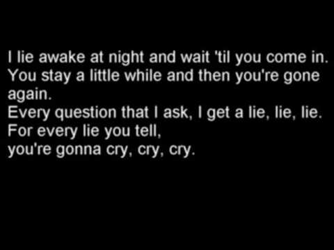 Johnny Cash Cry, Cry, Cry with Lyrics