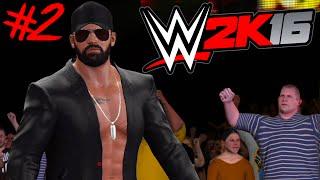 WWE 2K16 : Auf Rille zum Titel #2 [FACECAM] - DER ERSTE GROßE KAMPF !!