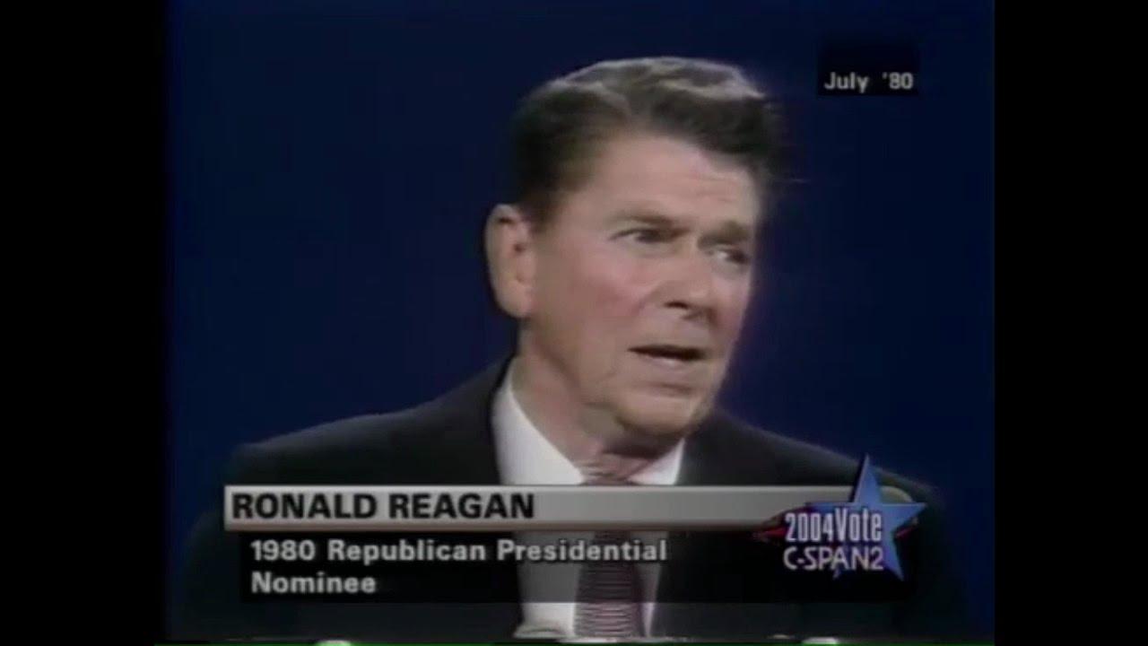 reagan make america great again 1980 youtube