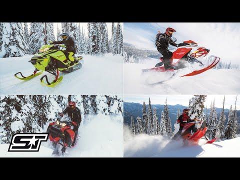 The Top Four Ski Doo Snowmobiles For 2020