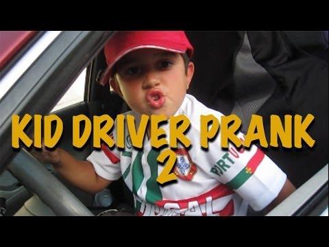 DRIVE THRU- KID DRIVER PRANK #2