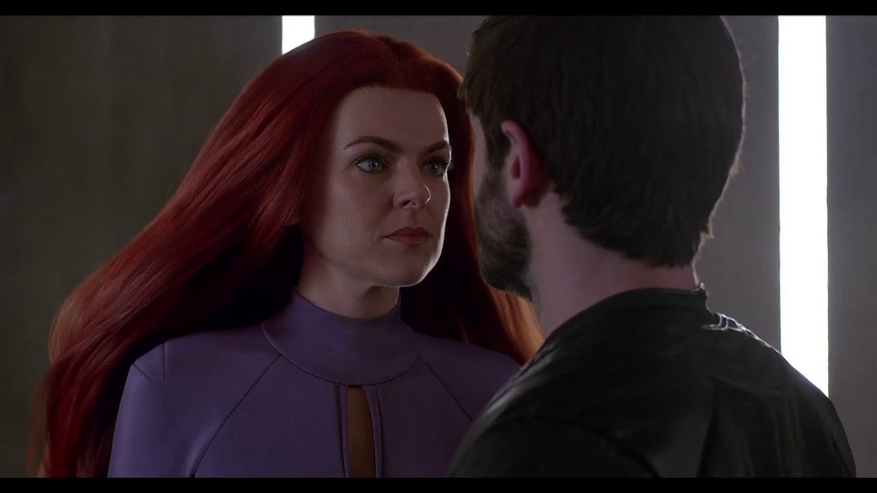 Marvels Inhumans Clip Maximus And Medusa Face Off