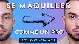 TUTO MAKEUP COMPLET DE À à Z ( niveau avancé ) |  MAQUILLAGE HOMME