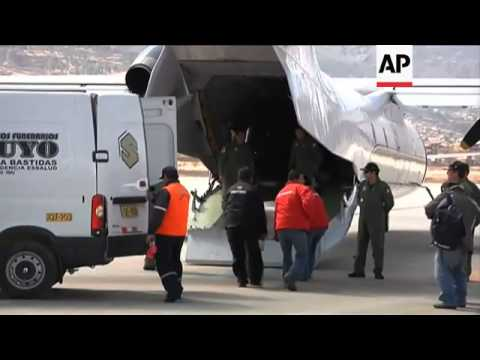 BODIES OF HELICOPTER CRASH VICTIMS REPATRIATED