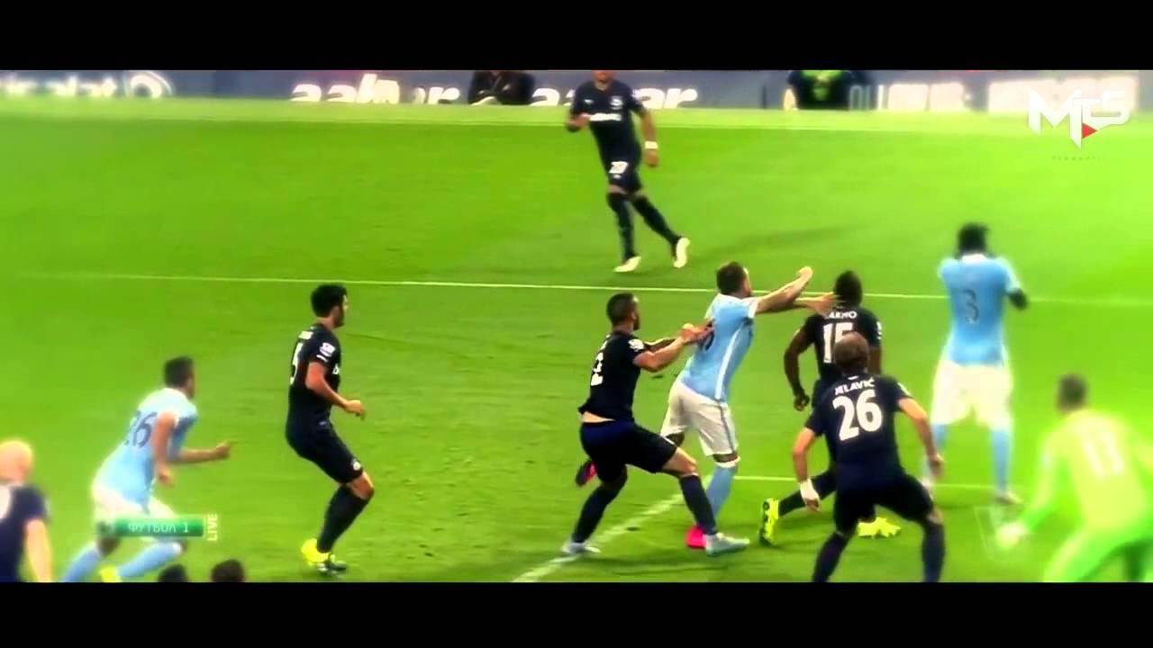 Vincent Kompany & Nicolas Otamendi Manchester City 2015 16