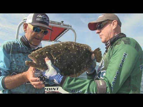 FOX Sports Outdoors SouthWEST #36 - 2018 Murrell's Inlet, S. Carolina Flounder Fishing