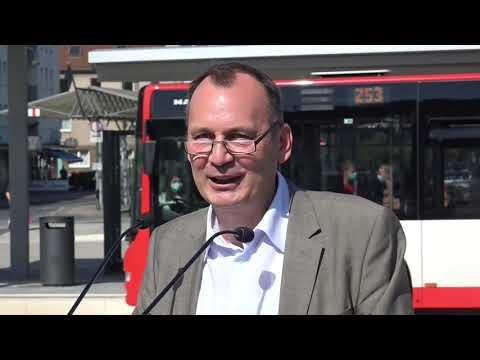 Leverkusen: Busbahnhof Opladen