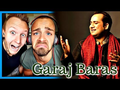 Garaj Baras, Rahat Fateh Ali Khan & Ali Azmat | Reaction by Robin and Jesper