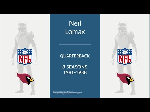 Neil Lomax: Football Quarterback