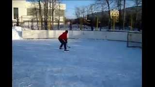 Хоккей на улице  Финты!