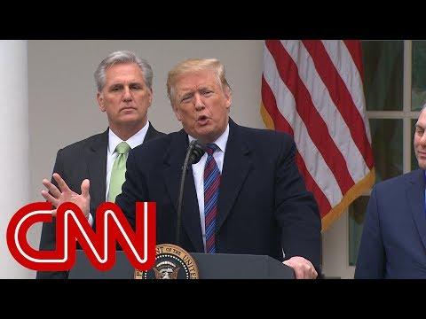 Trump: Shutdown could last a year