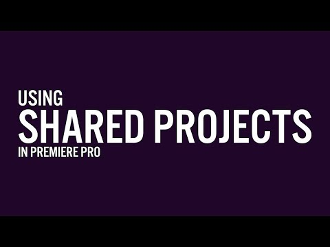 Shared Projects in Premiere Pro - Everything you need to know | Adobe Creative Cloud