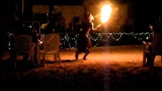 HoneyPot28 AMAZING FIRE DANCER JAMAICA!!! Thumbnail