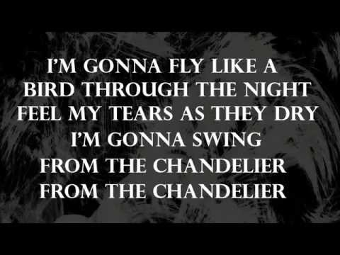 Sia - Chandelier + Paroles/ Lyrics - YouTube