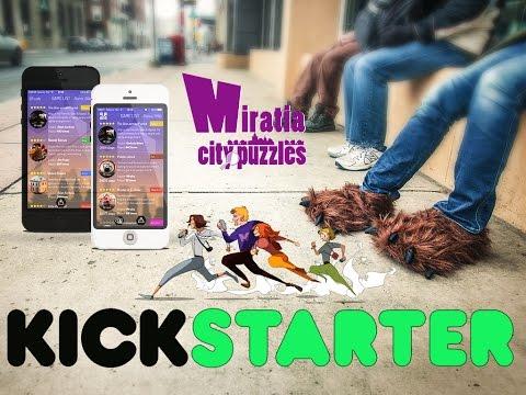 Kickstarter promotion video - Miratia Treasure Hunt in San Francisco