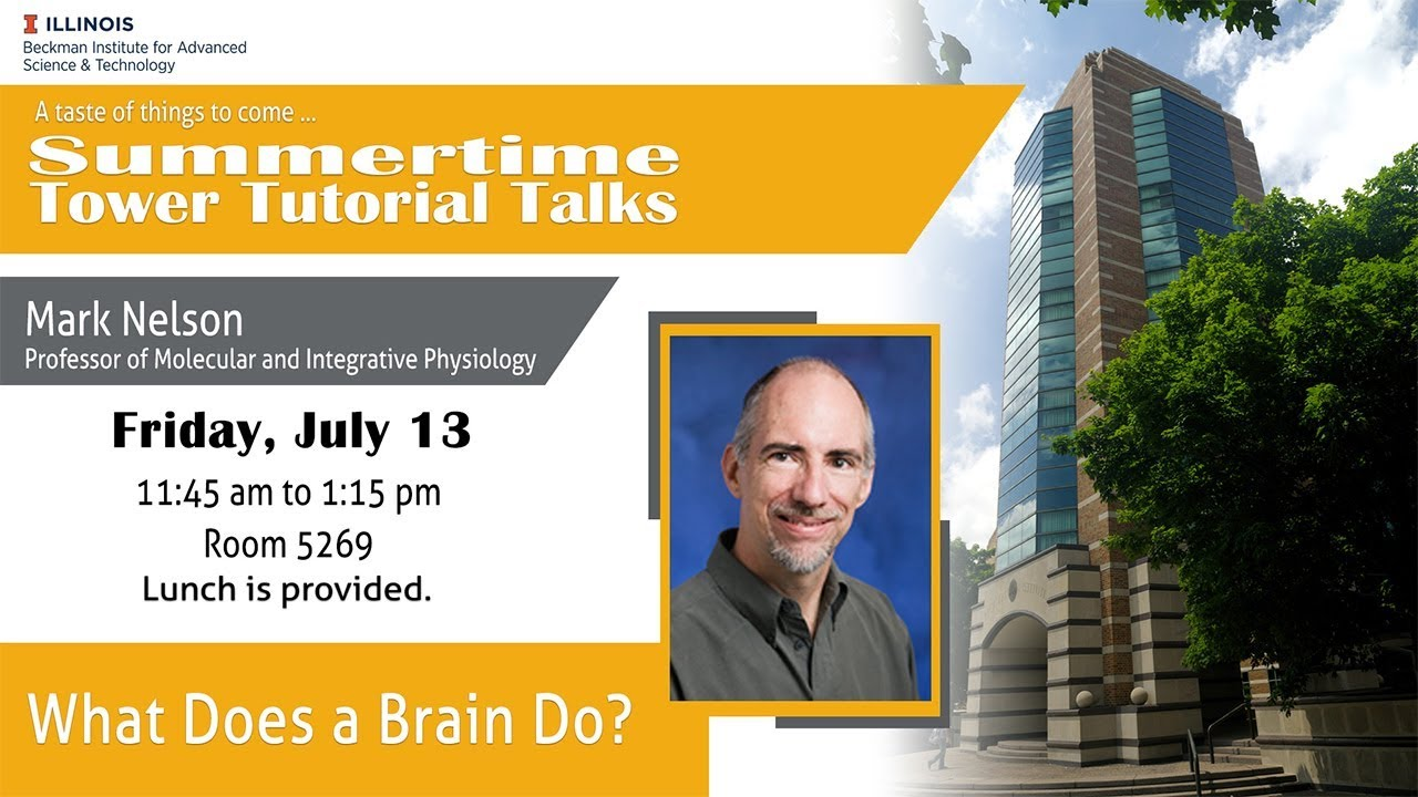 """Watch """"What Does a Brain Do?"""" - Mark Nelson (Tower Talk)"""