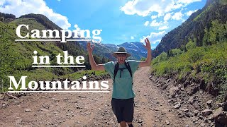 Dispersed Camping Colorado Mountains! Glamping Colorado Mountain Life!