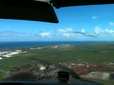 ILS 02 Kahului Hawaii Cessna172